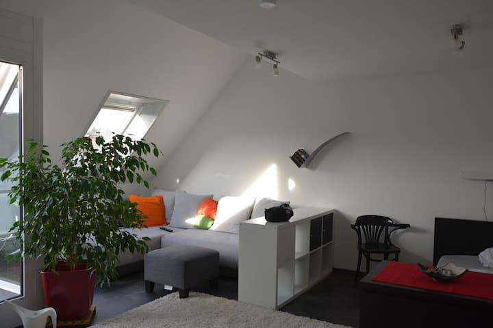 Modern Wohnen mit Blick zur Esslinger Burg