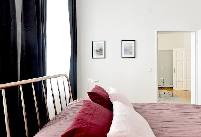 Fancy Home for 6 with Self-Check-In at Spittelberg
