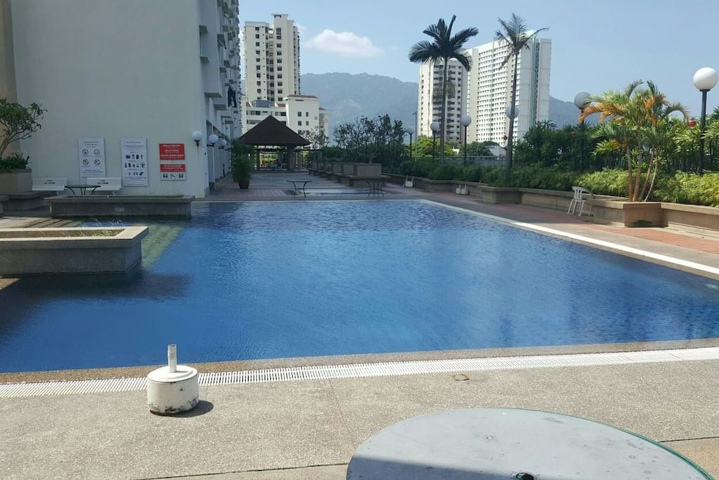 Swimming Pool Close View