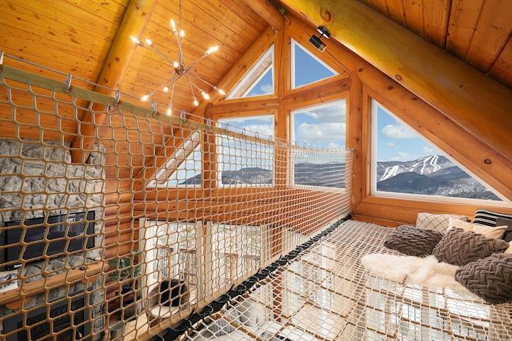 Enjoy Tremblant best view ❤️ w/sauna and hot tub CITQ# 271692