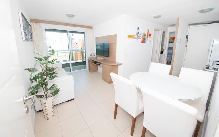 Apartamento 2 Quartos Vista Mar Natal
