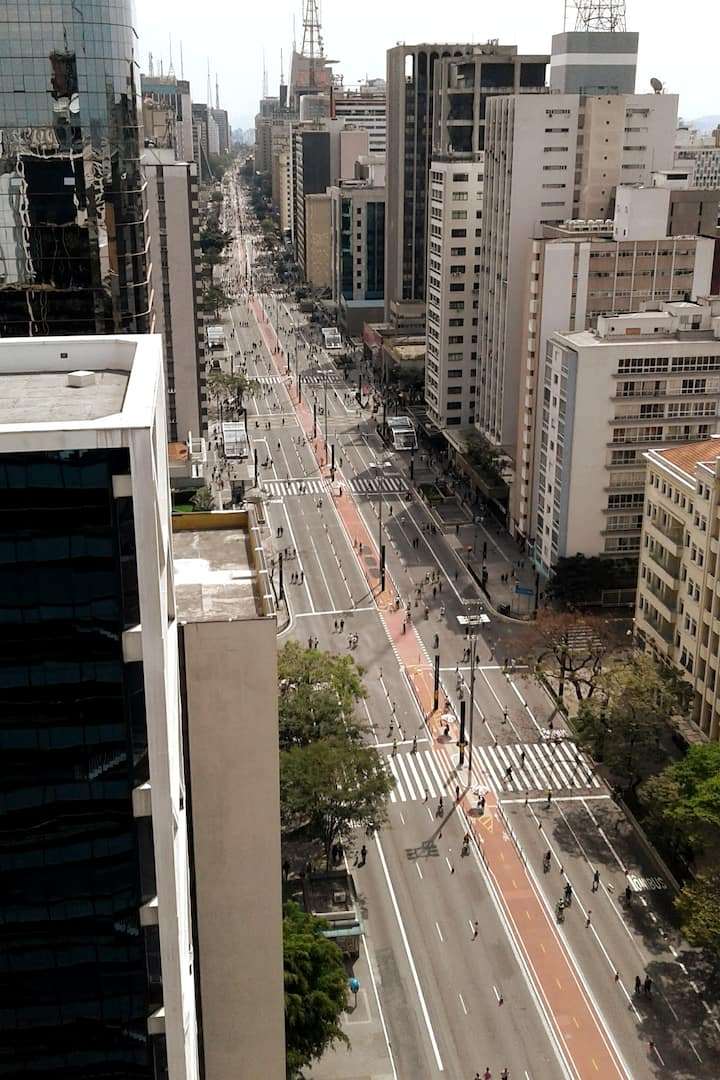 Paulista Ave from the top