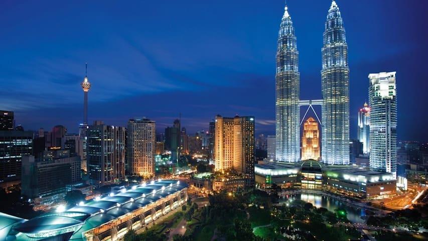 Summer#1: 2 Bedroom Suites Near KLCC! - Kuala Lumpur - Lakás