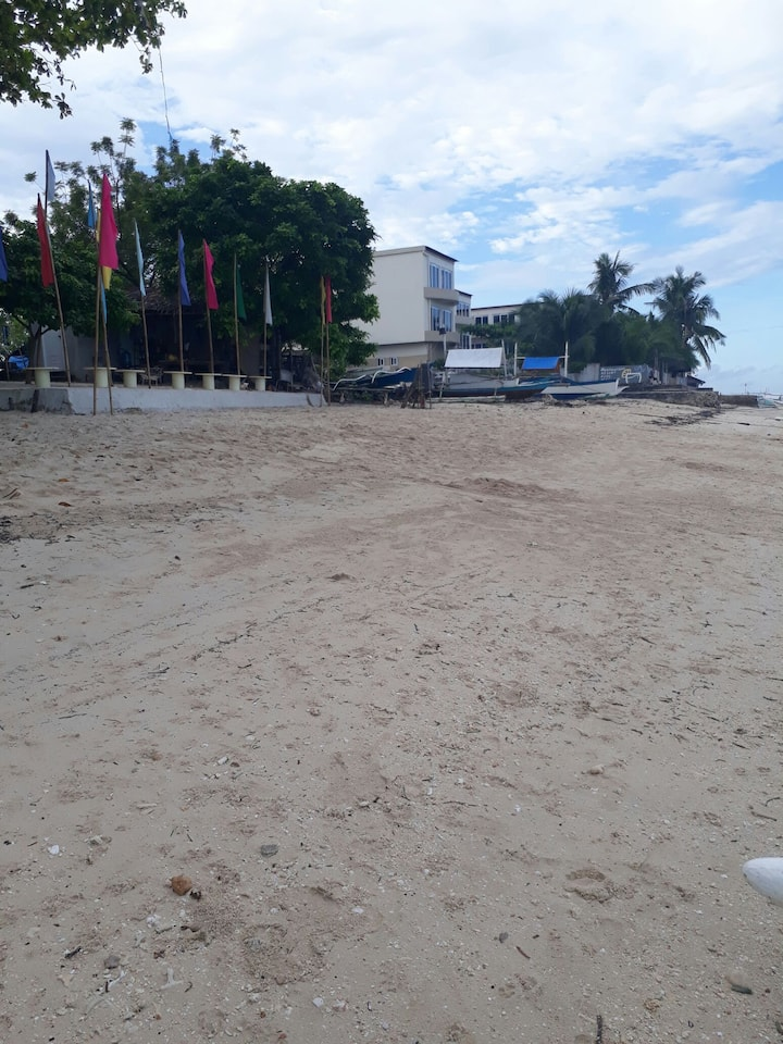 Simple Beachfront Airconditioned Room