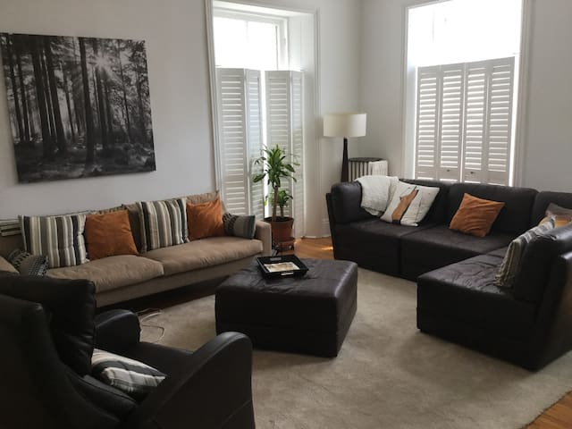One bedroom bright apartment walk to downtown