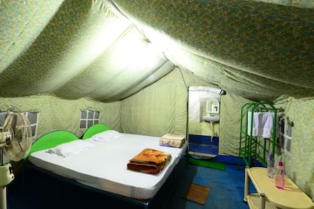 Tent in Bhitarkanika National Park - Bhitarkanika