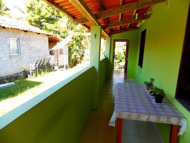 Casa grande na Ilha de Boipeba - Cairu - Ev