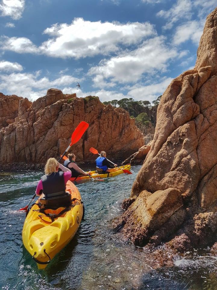 Find your way to explore the coastline