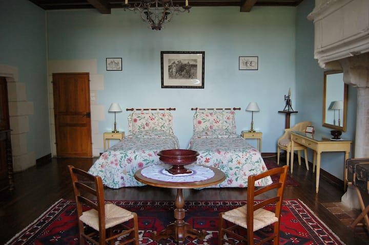 Le Château de Crazannes: La chambre des Pèlerins