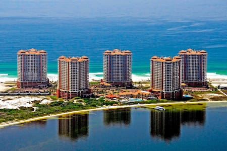 Guest bedroom at Pensacola Beach - 펜사콜라 비치(Pensacola Beach) - 아파트(콘도미니엄)