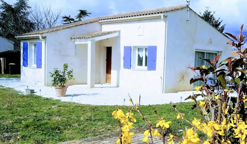 La maison des vignes - 15 minutes de la mer