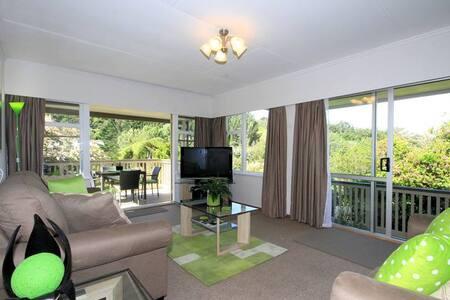 Durievale Retreat - Walk to Town - Whanganui - Haus