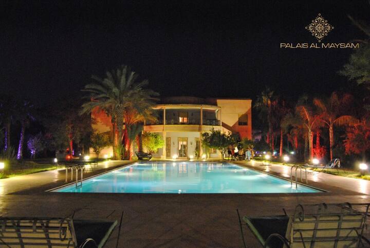 Palais al mayssam avec une magnifique vue (villa)