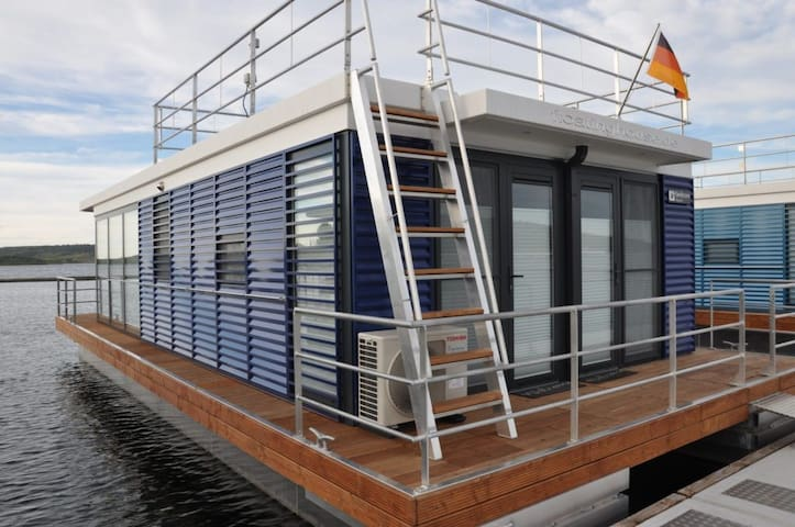 WELL Hausboote Leipzig Braunsbedra (Nessi)