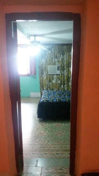parte de la habitación