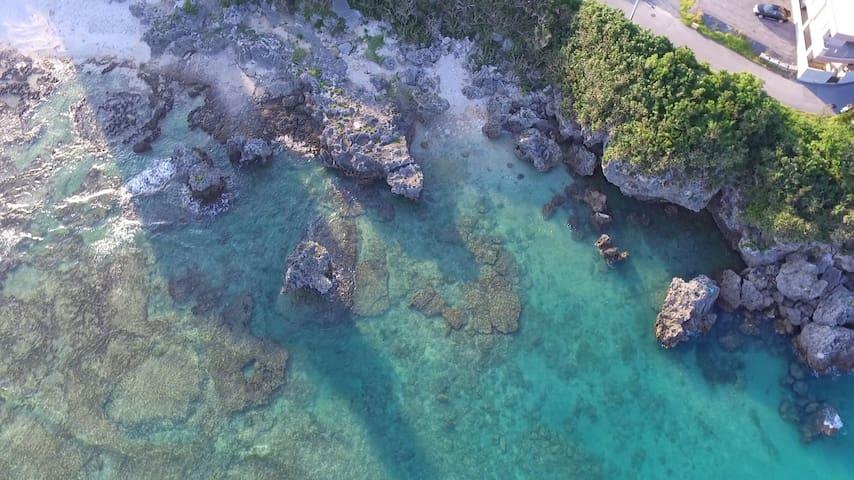 Okinawa Ojima 奧武島-天堂之旅 sea view Ojima