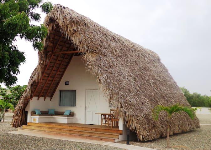 Bungalow luxe sur la belle plage