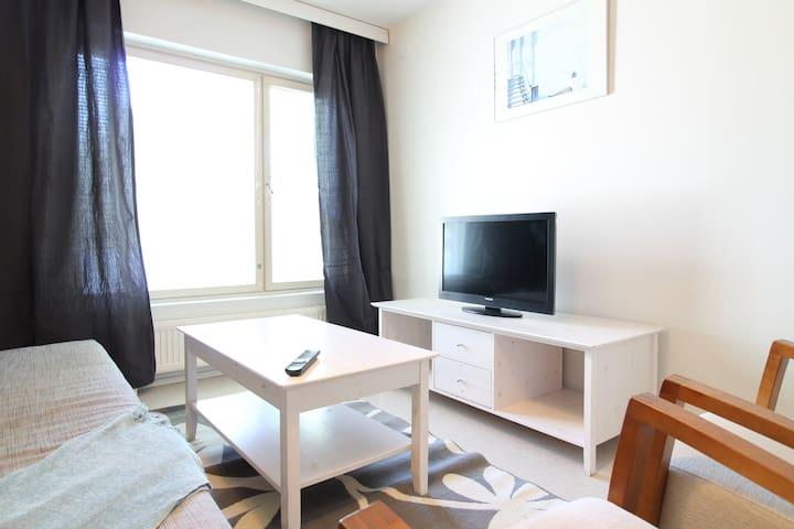 Three bedroom apartment in Hamina, Ilveskalliontie 2