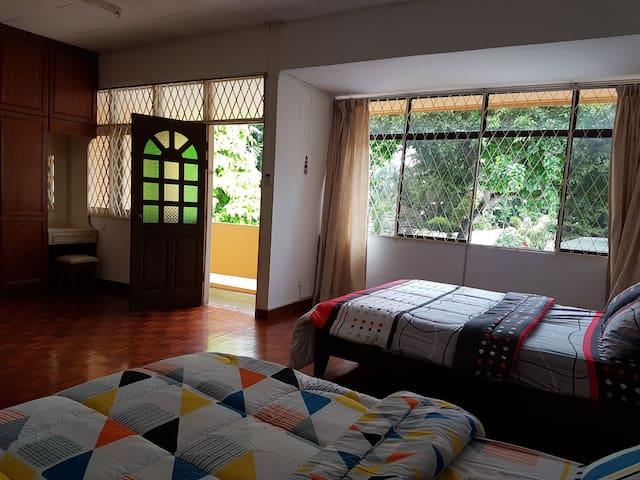 LPM MasterRoom2QueenBed+AC+ Terrace - Tanjung Bungah - House