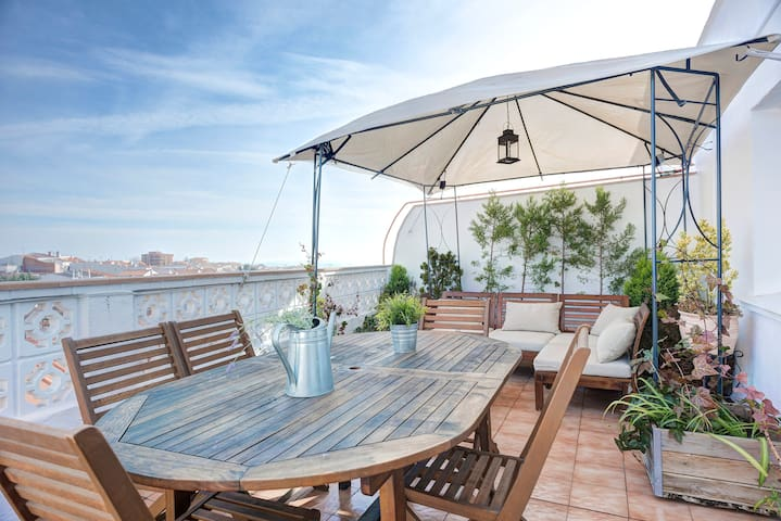 Penthouse in the center of the town - Navalcarnero - Apartamento