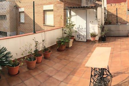 Great Terrace + Private Bathroom. - Gavà - Квартира