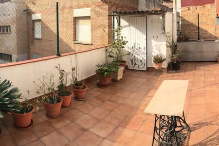 Great Terrace + Private Bathroom. - Gavà - 아파트