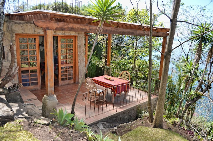 Amazing lake views from private large terrace - Panajachel - Casa