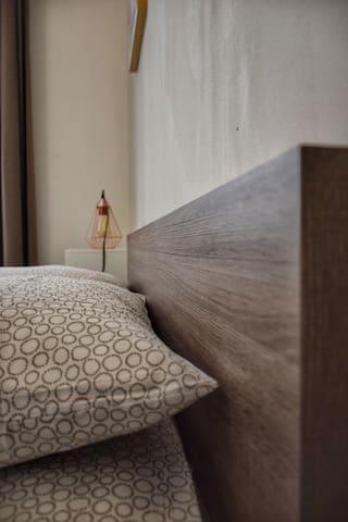Chambre confortable et zen