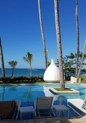 Oceanfront Suite in Lavish Rejuvenation Resort
