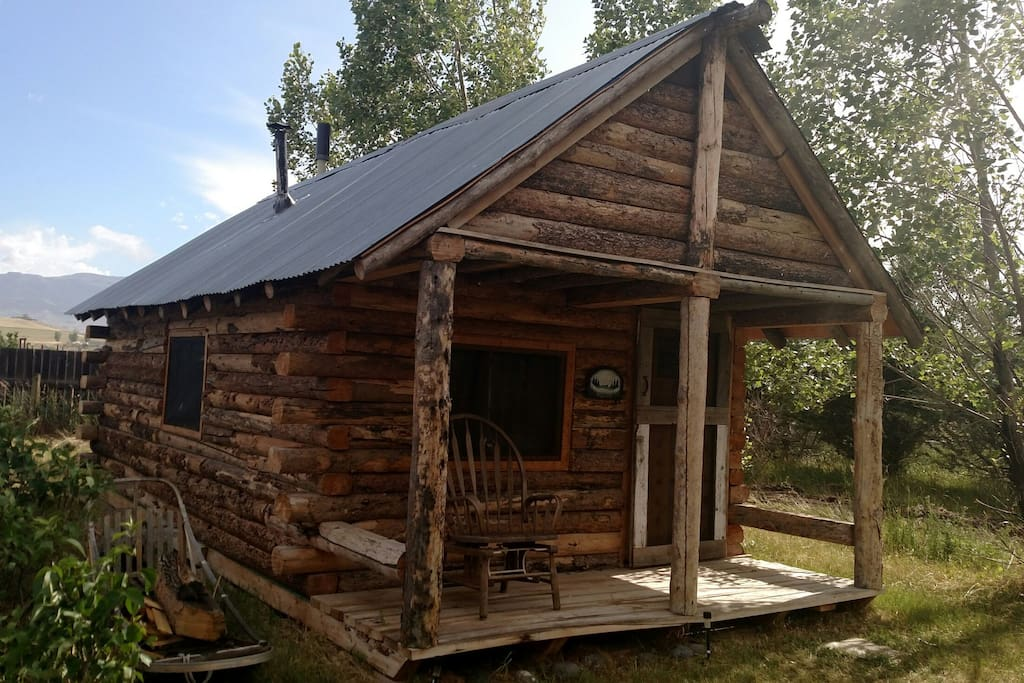 Beautiful Rustic Log Cabin Cabins For Rent In Cody