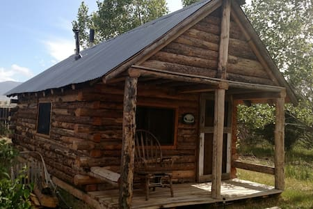 Beautiful rustic log cabin - Cody