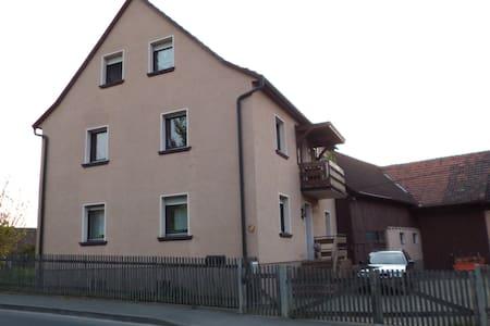 Wohnen in ländlicher Idylle / Zimmer 1/bis 5Pers. - Eußenheim