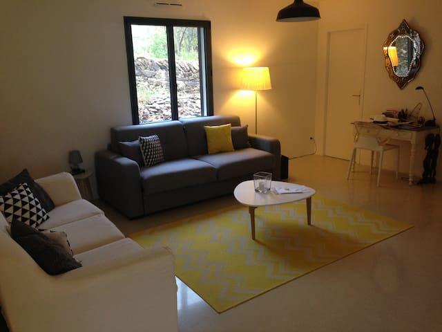 Chambre privée moderne en B&B - La Cadière-d'Azur - ที่พักพร้อมอาหารเช้า