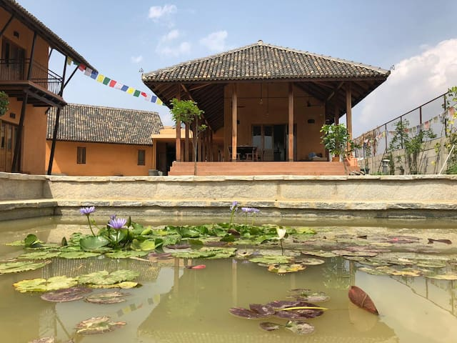 Khangkar House - A Unique Rustic Mud Retreat