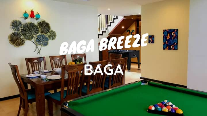 BAGA BREEZE 5BHK Luxury Pool Villa 100m to beach