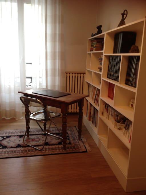 Chambre - coin bureau