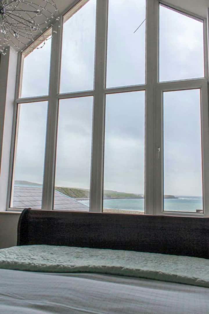 Wild Atlantic Lodge rooms. ocean of love room