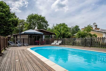 Grande maison 160m² avec piscine + annexe de 30m² - Saint-Michel-de-Rieufret