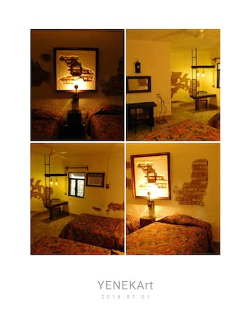 Hotel Yeneka. Black & White (#1)