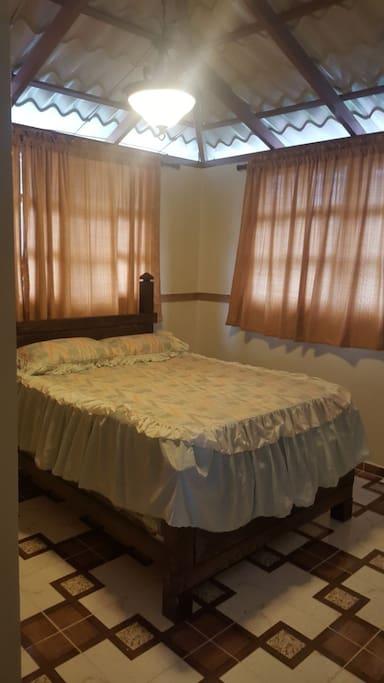 Habitación No.1 con cama matrimonial