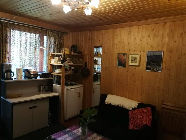 Теплый дом с сауной в 20 км от МКД в Жаворонках.