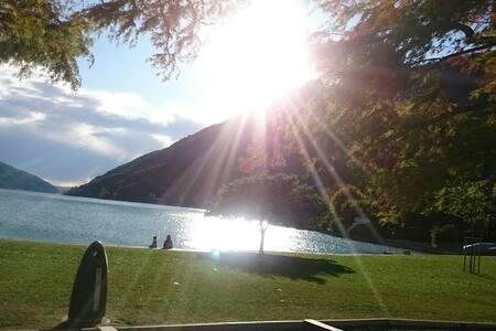 holiday apartment on Lugano Lake B 2.5 (80 sq.m)