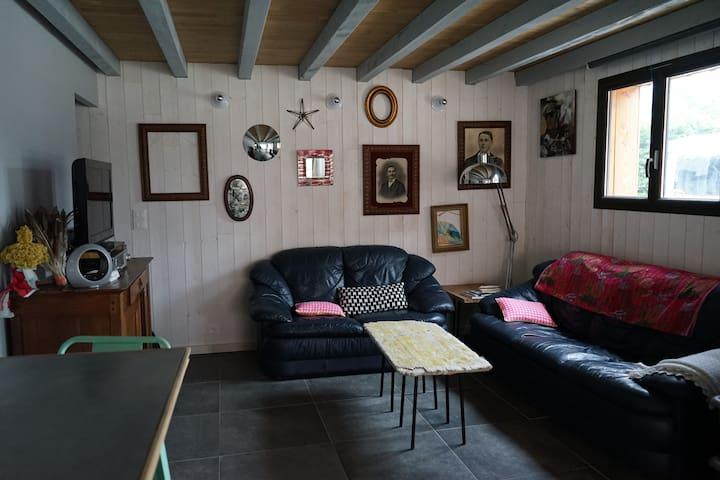 villa neuve 5/6 p plage à 400m - Vendays-Montalivet - Haus