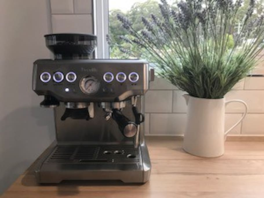 New coffee machine