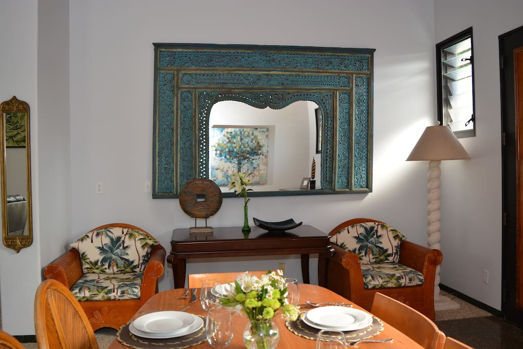 Dining Table in Main House
