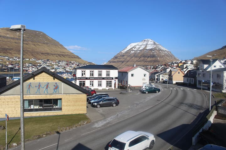Newly refurbished flat in the centre of Klaksvik