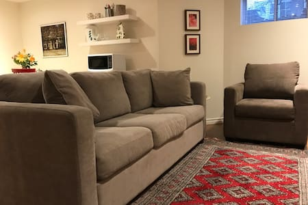 Roomy Suite in Century Home with Downtown Access