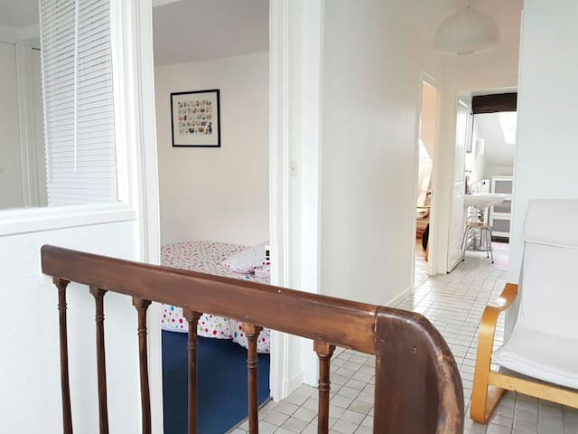 Chambres dans maison centre ville Orléans