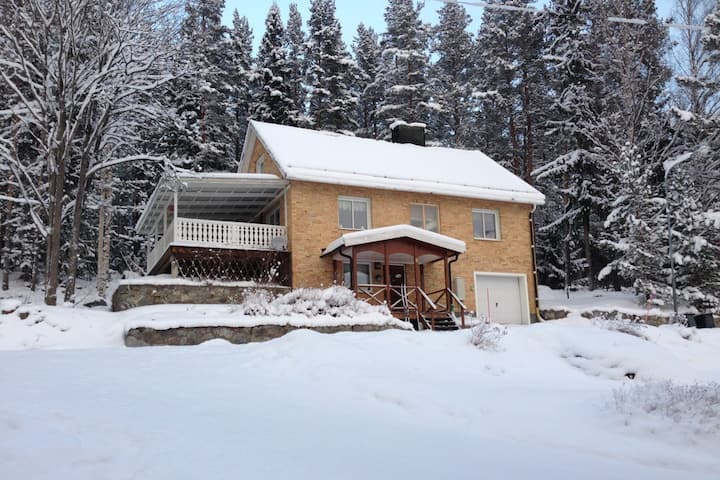 Perfekta familjehuset för skidresan!
