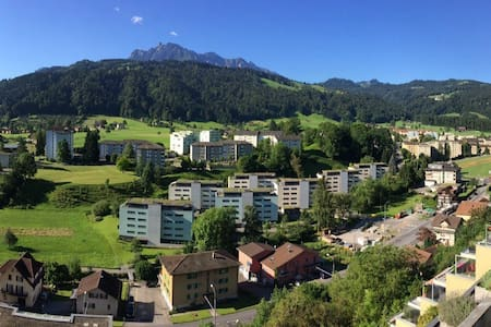fantastic view, just 15 minutes to city center - Obernau